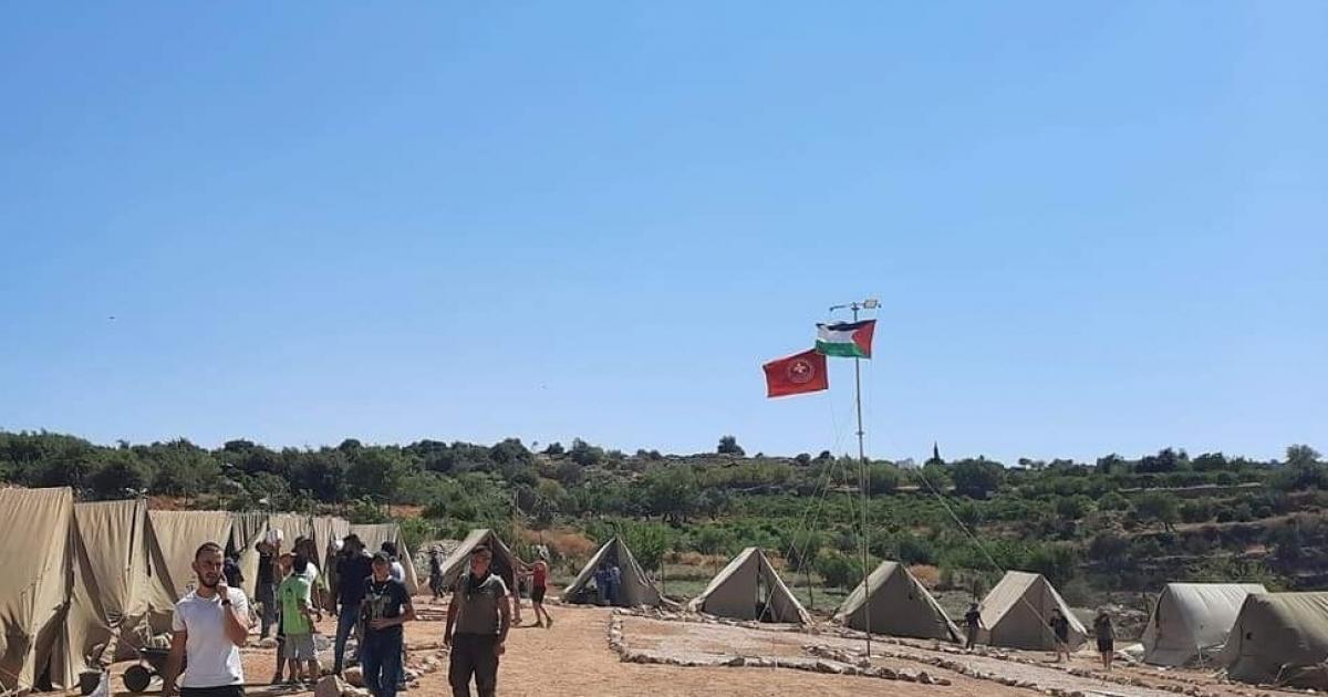 الاحتلال يخطر مخيما صيفيا بإنزال العلم الفلسطيني غرب بيت لحم | نبأ- وكالة  الصحافة الوطنية